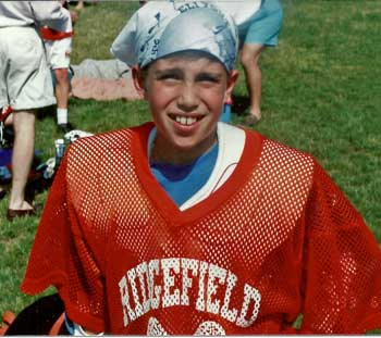 Coach Brazill's early lacrosse days