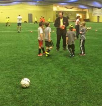 HGR Winter Soccer Foot Skills Session 2