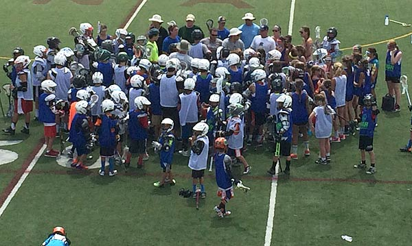 2014 Summer Youth Lacrosse campers