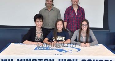 Christina Natola signs with SUNH