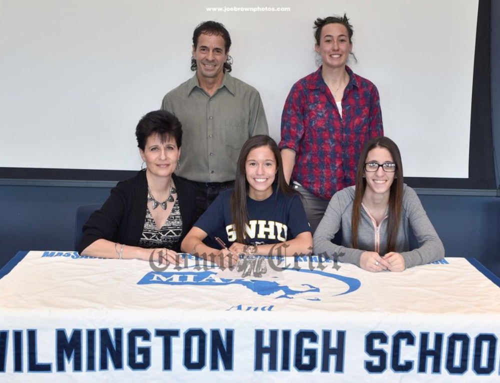Christina Natola Makes Wilmington HS History
