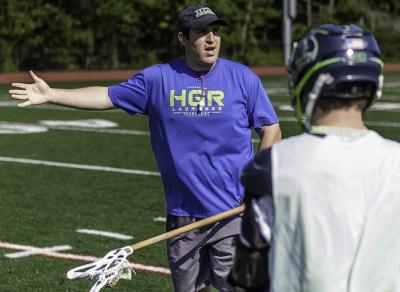 Coach Peter Smyth