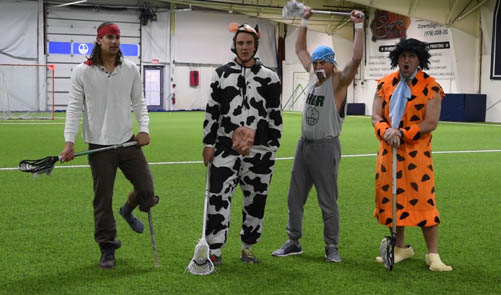 Coaches ready for Halloween