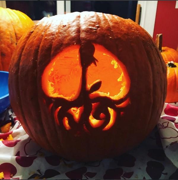 Pumpkin carving by Jack Savoie