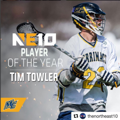 Tim Towler NE10 2017 Player of the Year