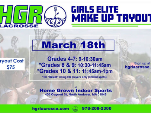 Girls- Last Week for Summer Tryout Registration