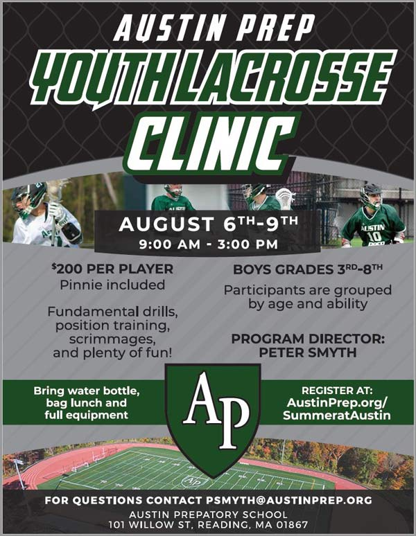 Austin Prep Summer Clinic flyer