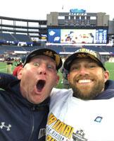 Coach Morgan and Coach Brazill